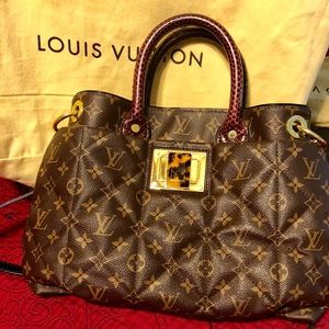 Limited Edition Monogram Etoile Exotic Tote MM Bag